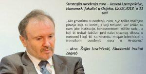 Strategija uvođenja eura-lovrinčević